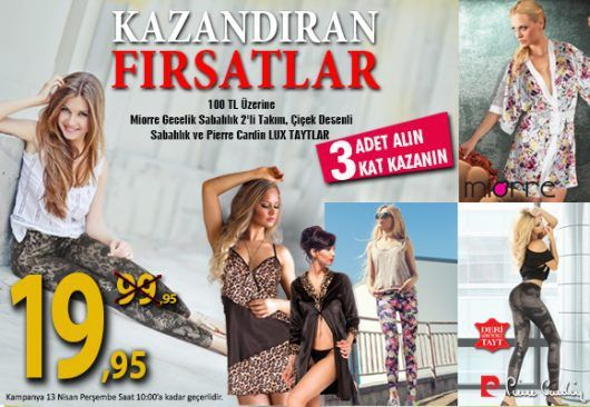 KAZANDIRAN FIRSATLAR ! - http://www.pierecardin.net/kazandiran-firsatlar/