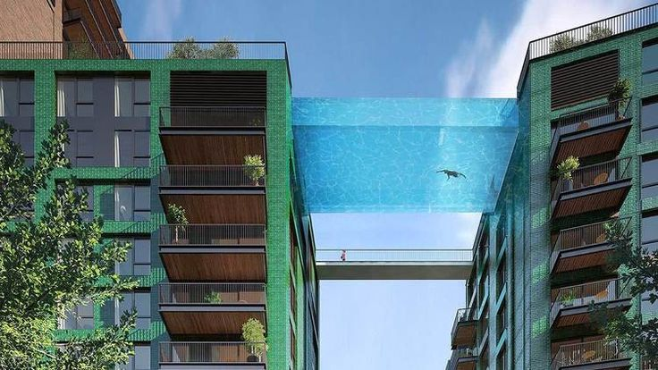 Those posh Nine Elms flats are getting a 'sky pool', so the rich can look down on you while they swim