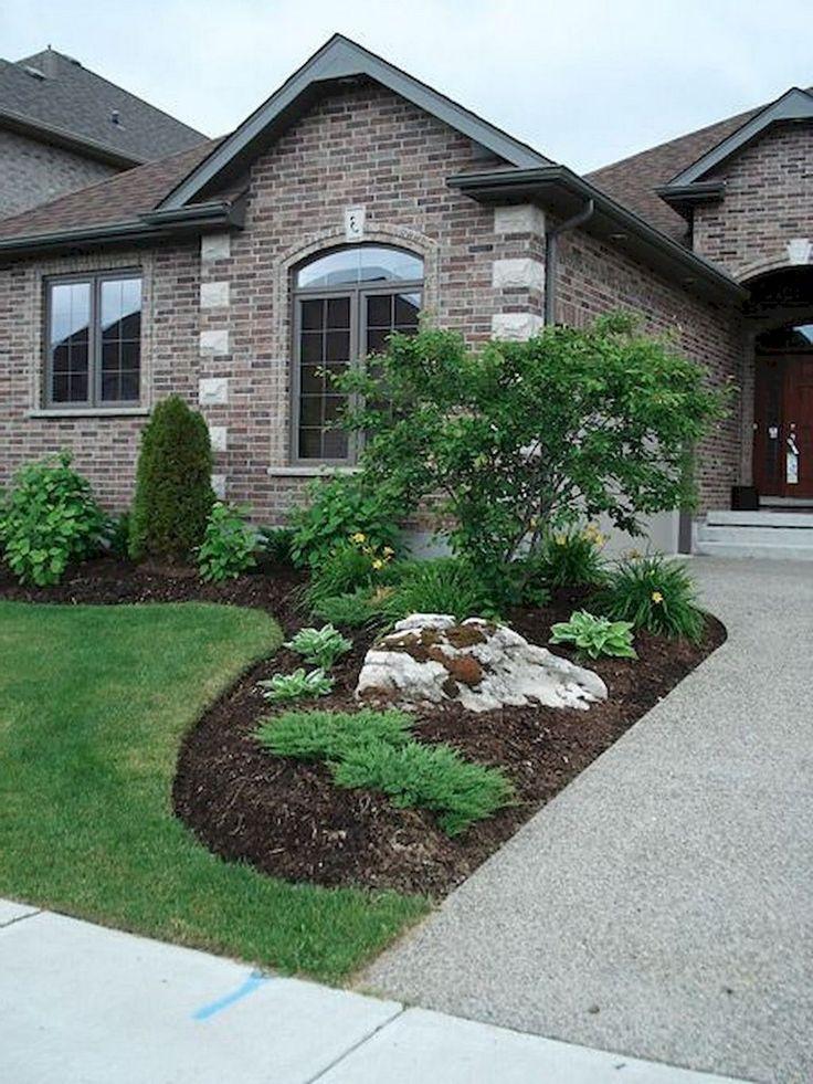 70 brilliant low maintenance front yard landscaping ideas on front yard landscaping ideas id=91802
