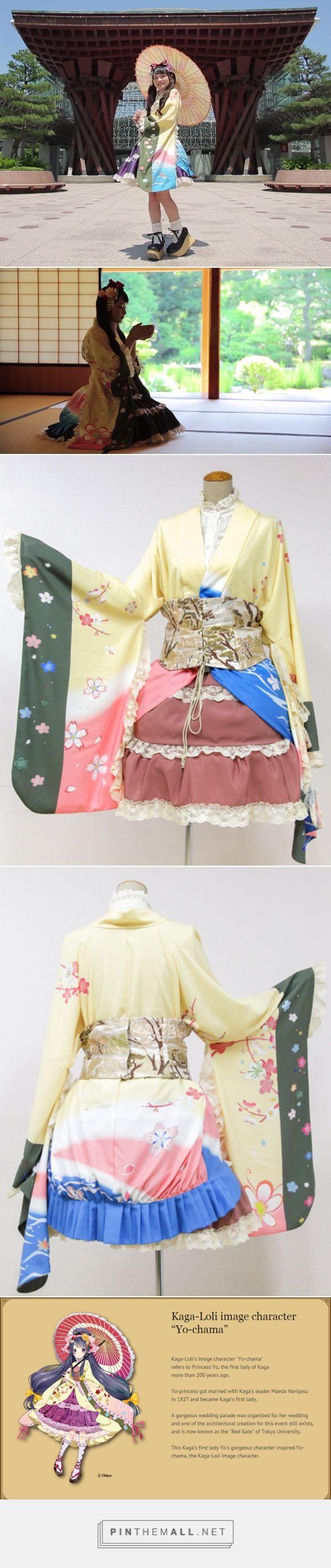 Kawaii! Gaun mengagumkan ini menggabungkan gaya lolita dan tradisional Jepang! | Japanese Station | Portal Berita Jepang - created via http://pinthemall.net