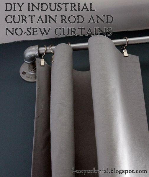 25 Best Ideas About Boys Industrial Bedroom On Pinterest: Best 25+ Industrial Curtain Rod Ideas On Pinterest