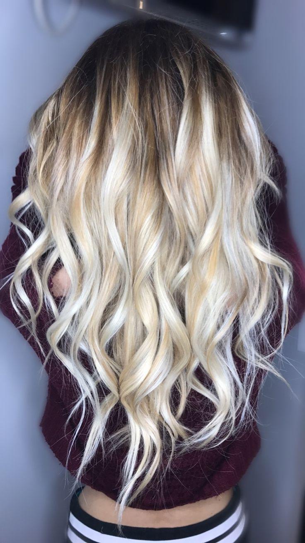 Balayage blonde hair goals IG- @halezbeauty #balayage