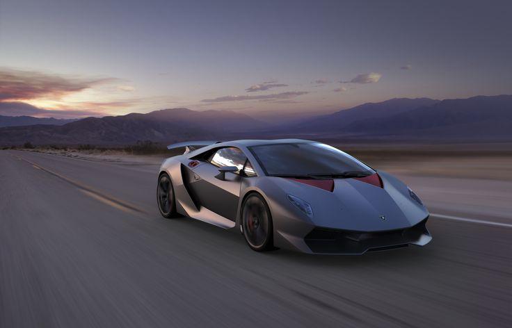 Lamborghini Sesto Elemento, concept