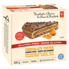 PC Gluten-Free Chocolate Toffee Almond Torte