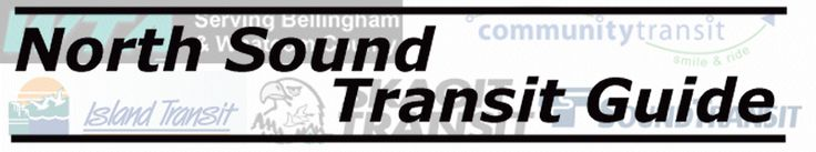North Sound Transit Guide: Frequently Requested Routes