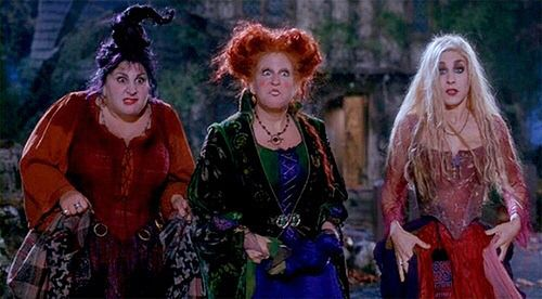 The Sanderson Sisters …