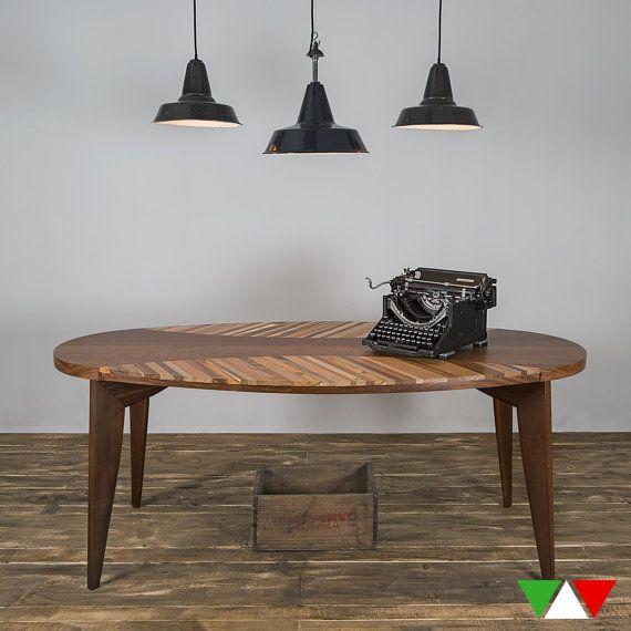 Tavolo Vintage Ovale di HMitaliandesign su Etsy