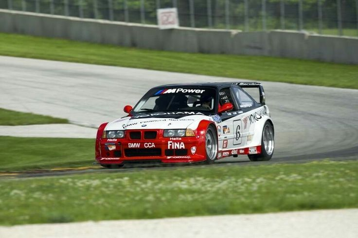 1998 BMW (E36) M3 GT-2. This car is one of the specially prepared BMW M3 race cars that won both the 1997 and 1998 Drivers' and Manufacturers' Championship ...