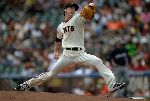 Tim Lincecum - Milwaukee Brewers v San Francisco Giants