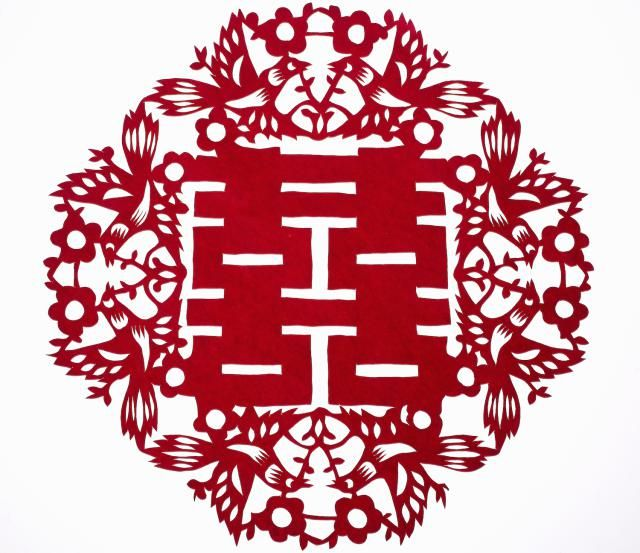 Using the Chinese Double Happiness Sign for Love: The Chinese double happiness sign is a popular feng shui cure for love. It is widely used in jewelry, home decor items, textiles and various feng shui ornaments.