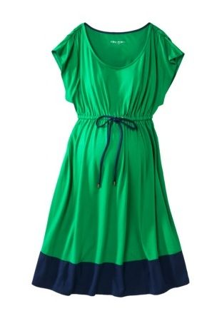 pregnant or not I would wear that dress regardless! Love the green and blue shades