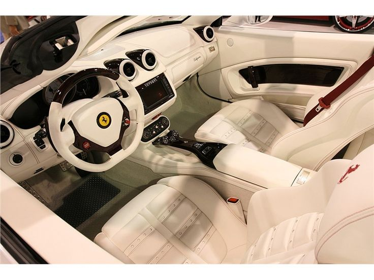 Ferrari California white #2