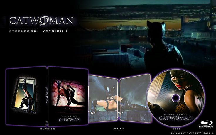 CATWOMAN - STEELBOOK -  Fan art - V1