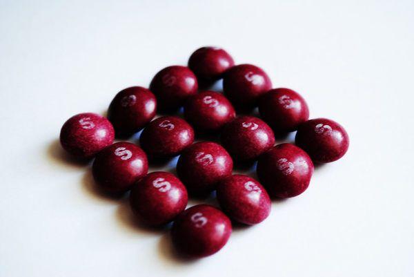 TIL Purple skittles taste different outside the United States