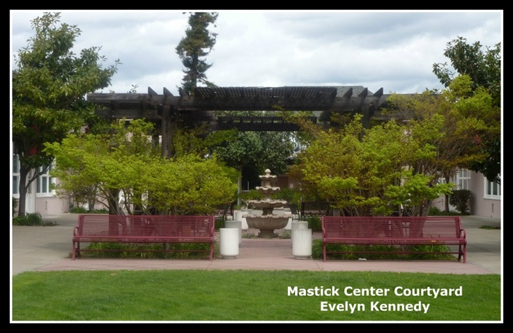 Mastick Senior Center CourtyardSenior Living, Center Courtyards, Mastick Senior, Senior Center