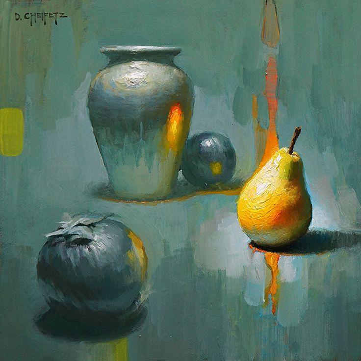 Zenith by David Cheifetz Oil ~ 8 x 8
