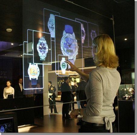 Des concepts fascinants d'interfaces tactiles du futur
