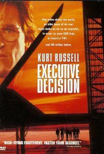 """Executive Decision (1996) -- Classic 90s action movie -- """"When terrorists seize control of an airliner, an intelligence analyst accompanies a commando unit for a midair boarding operation."""""""