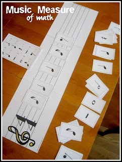 Relentlessly Fun, Deceptively Educational: A Music Measure of Math...to do with my fourth graders. Create teams and see who can get the most combinations