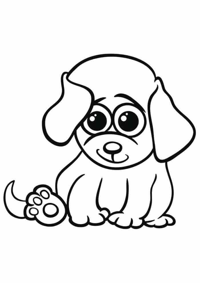 Coloring Pages For Kids Puppy Puppy Coloring Pages Animal Coloring Pages Dog Coloring Page