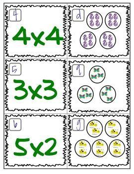 Free Multiplication Matching Game