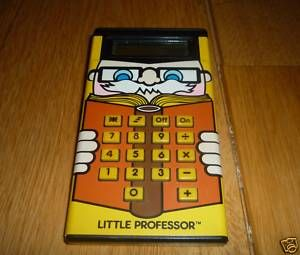 Little Professor calculator