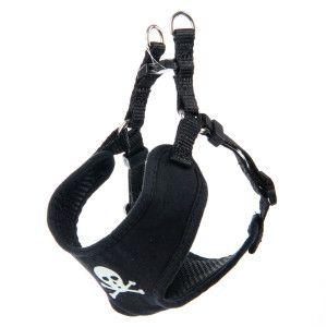 Whisker City® Skull & Crossbones Cat Harness | Collars ...