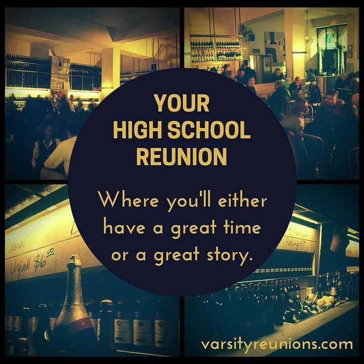 High School Reunion Quotes 6
