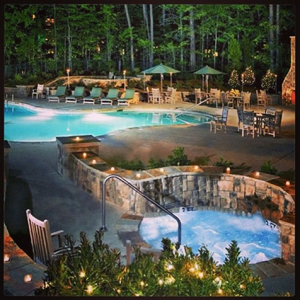 The Lodge Spa at Callaway Gardens in Pine Mountain Georgia is