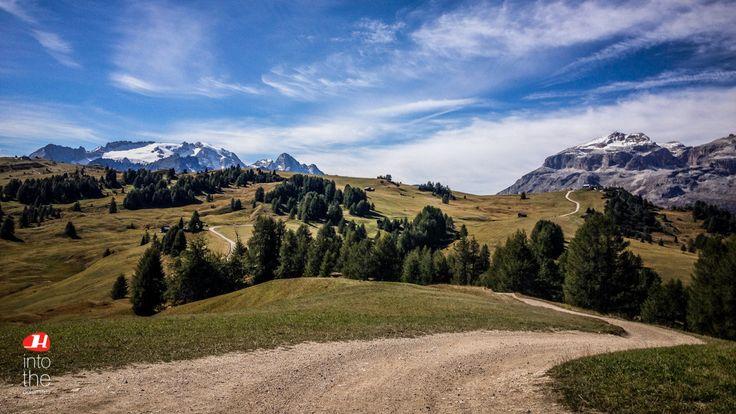 Classical Dolomites autumn weather!