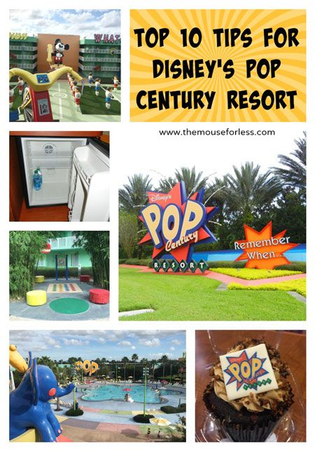 Disney's Pop Century Top Ten Resort Tips  Make the most of your Walt Disney World Stay!  #DisneyResort  #DisneyDining  #groovy