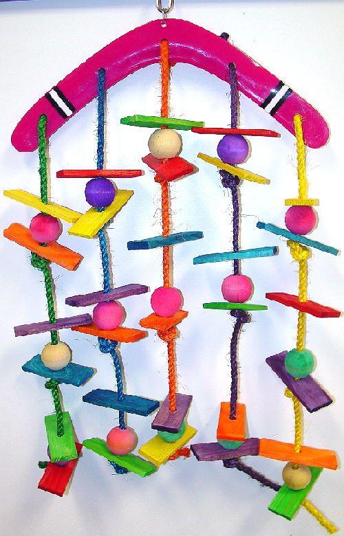 Scooter World Jumbo Boomerang - Parrot Toys www.parrotislandinc.com
