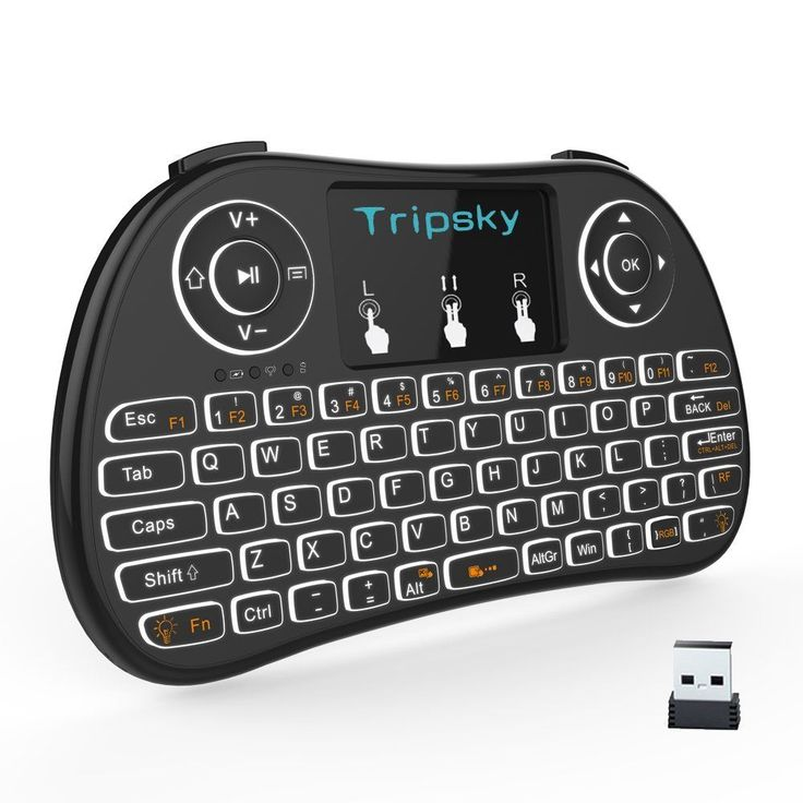 Computer Remote Control–Mini Wireless Keyboard T9 For Android TV Box & Windows #Tripsky