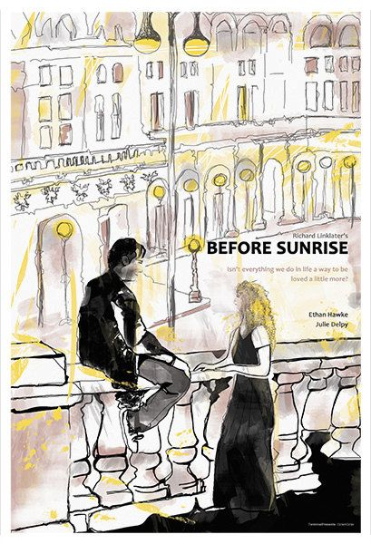before sunrise and before sunset In before midnight — set 18 years after their youthful viennese meeting, and 9  years after before sunset's emotional reunion in paris' cluttered.