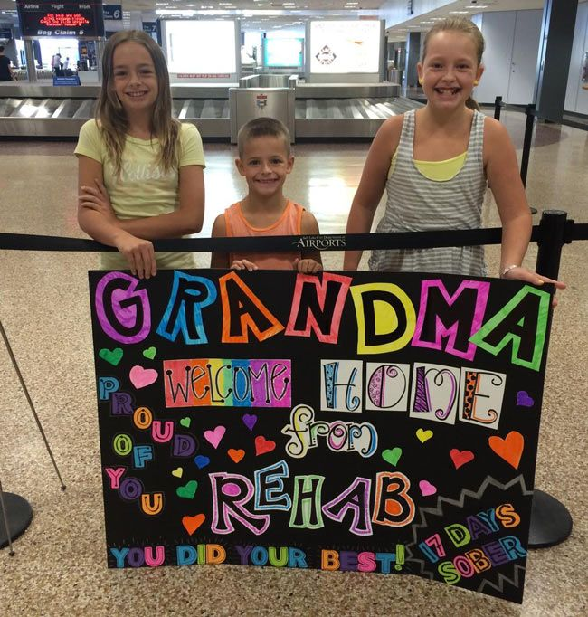 Why not surprise Grandma with a nice welcoming sign at the airport the next time she flies into town?