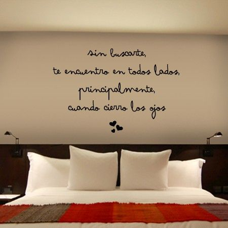 1000 ideas sobre vinilos para dormitorios en pinterest for Pegatinas pared dormitorio
