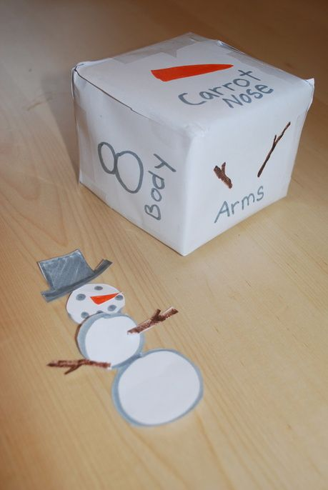Build a Snowman game that you can make yourself - Homegrown Friends