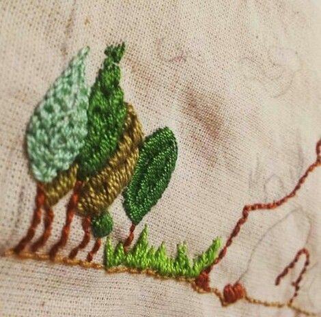 hand stitch embriodery