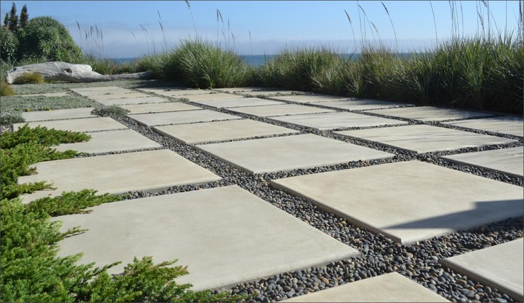 pebbles and pavers