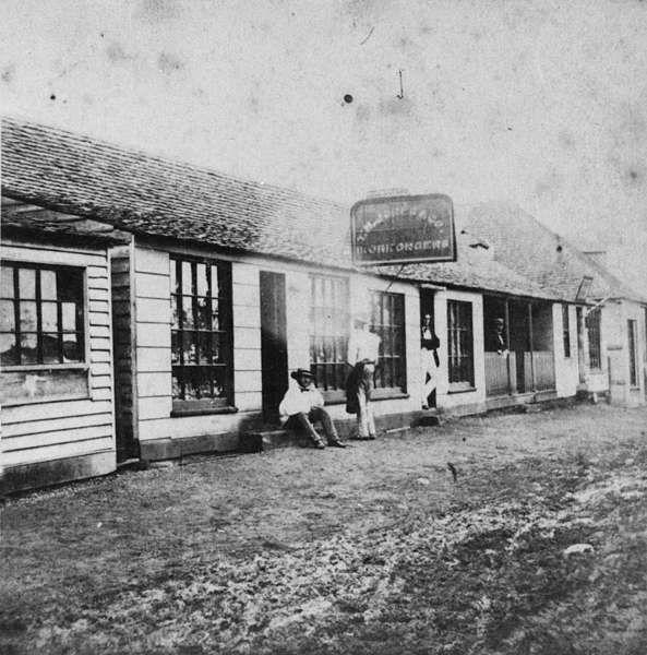 T. H. Jones Co. Ironmongers, Bell Street, Ipswich, Queensland, ca. 1860