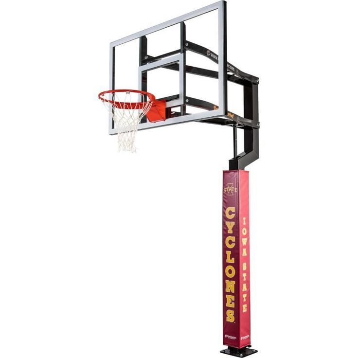 Goalsetter Iowa State Cyclones Basketball Pole Pad, Cardinal Red