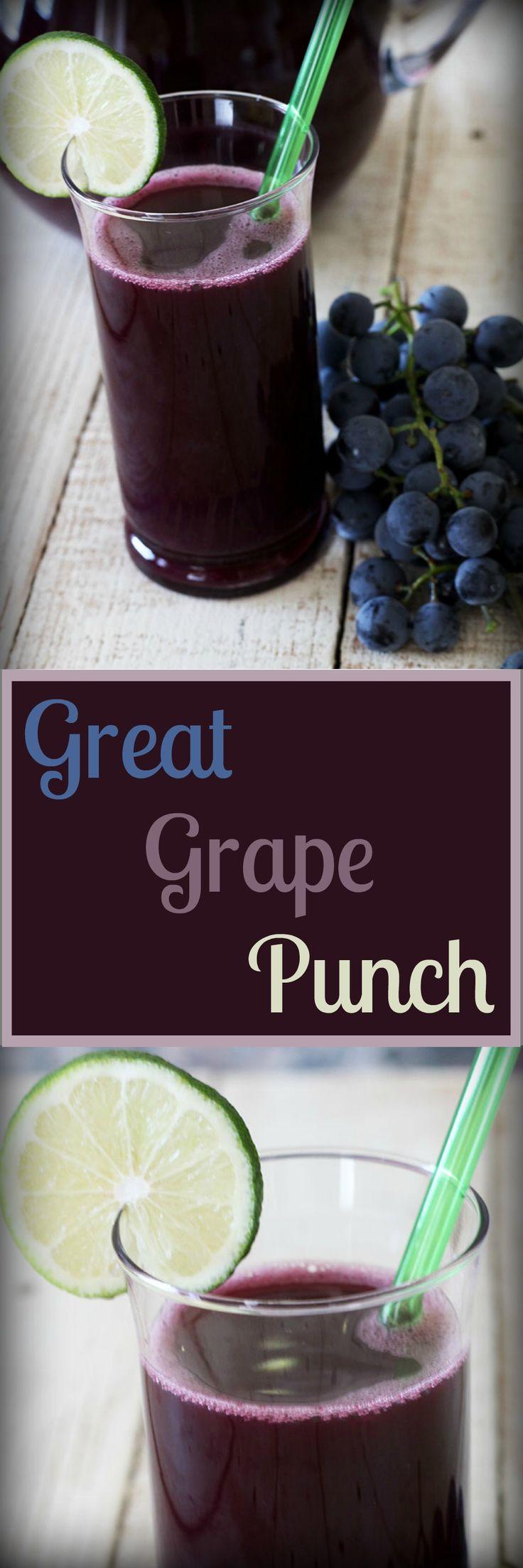 Grape Juice Punch , Recipe Treasures