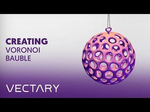 VECTARY x MyMiniFactory Xmas challenge – Creating Voronoi bauble - YouTube    #christmas #decoration #christmasdecor #ChristmasTree #howto #voronoi #decor #christmastime