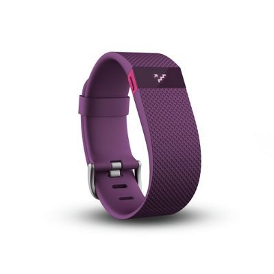 Fitbit Charge HR Large Heart Rate Monitor Wristband - Plum - http://trolleytrends.com/health-fitness/fitbit-charge-hr-large-heart-rate-monitor-wristband-plum