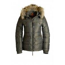 Parajumpers Damen - Parajumpers ALASKA Jacke Damen Armee PJS Daunenjacke