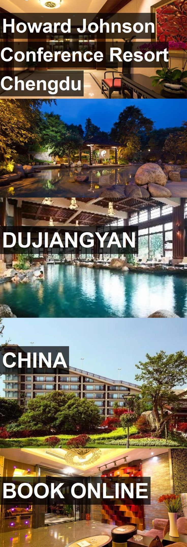 Hotel Howard Johnson Conference Resort Chengdu in Dujiangyan, China. For more information, photos, reviews and best prices please follow the link. #China #Dujiangyan #travel #vacation #hotel