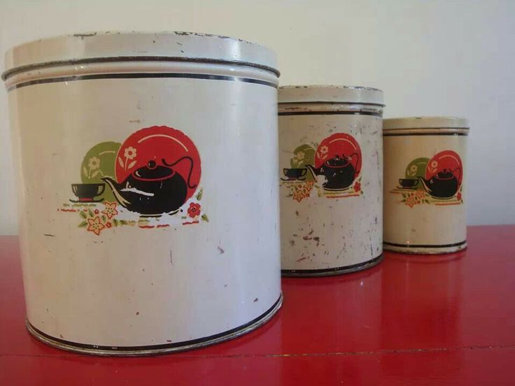 349 best images about canisters on pinterest vintage