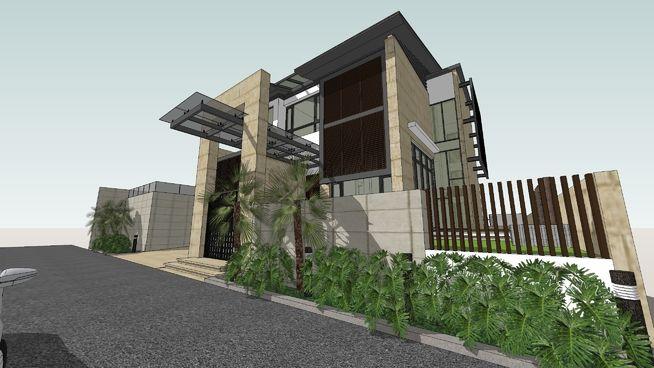 MODEL BUNGALOW HOUSE - 3D Warehouse