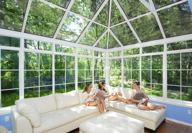 Conservatory Styled Sunroom