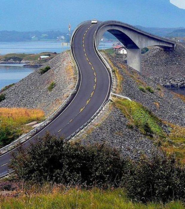 The Atlantic Norway Ocean Highway, une autoroute très spéciale en Norvège